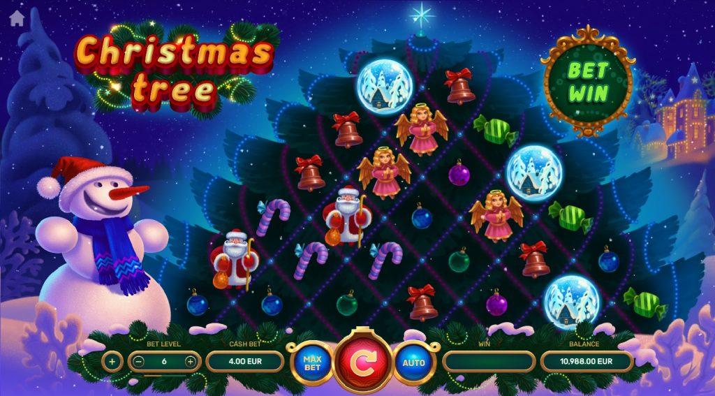 Игровой автомат с Christmas Tree