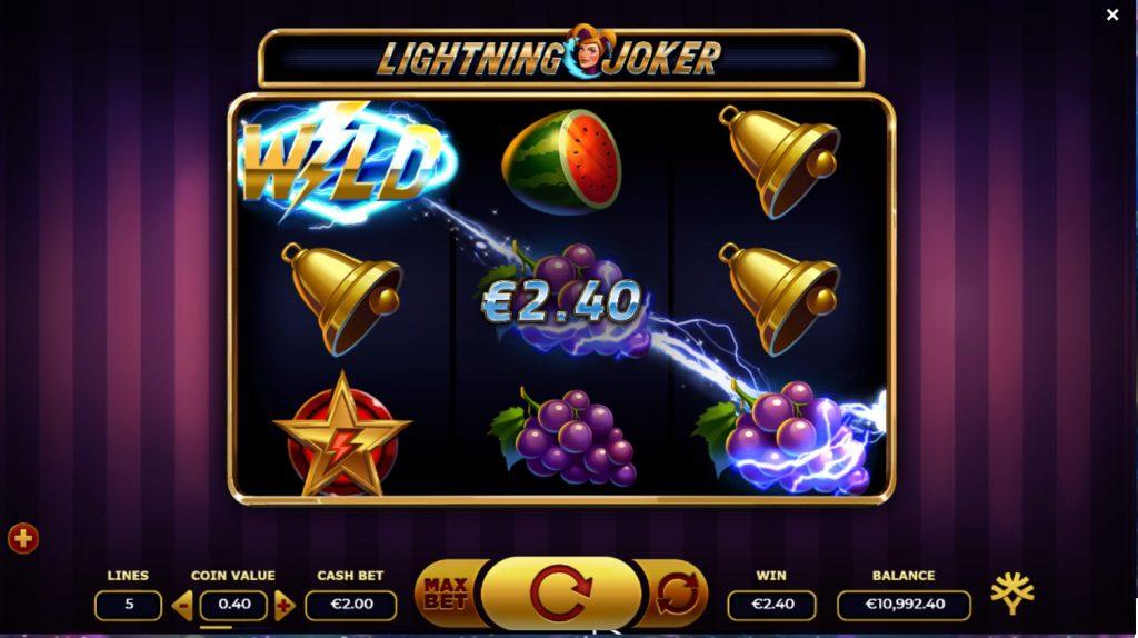 Игровой автомат Lightning Joker