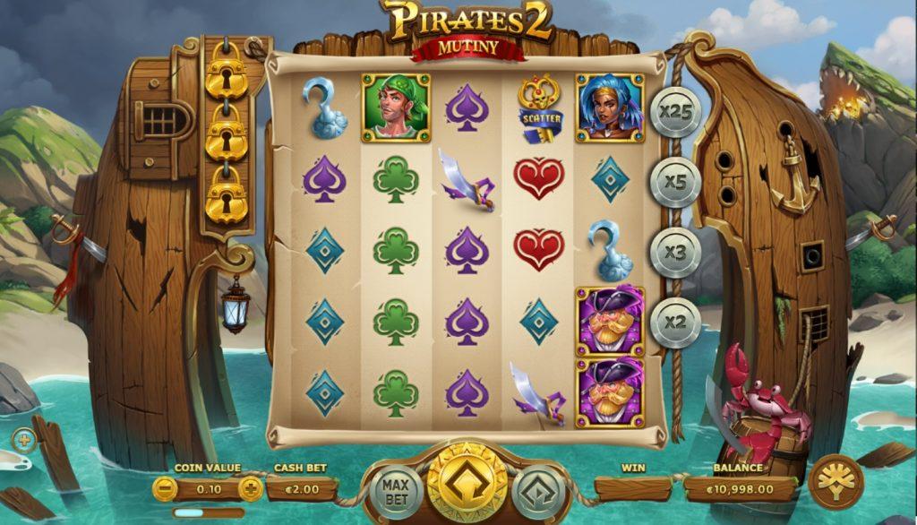 Игровой автомат Pirates 2 Mutiny